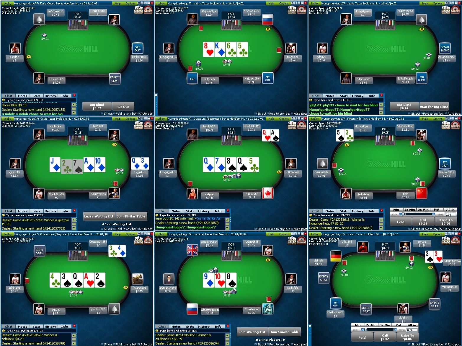 aaron pinson poker