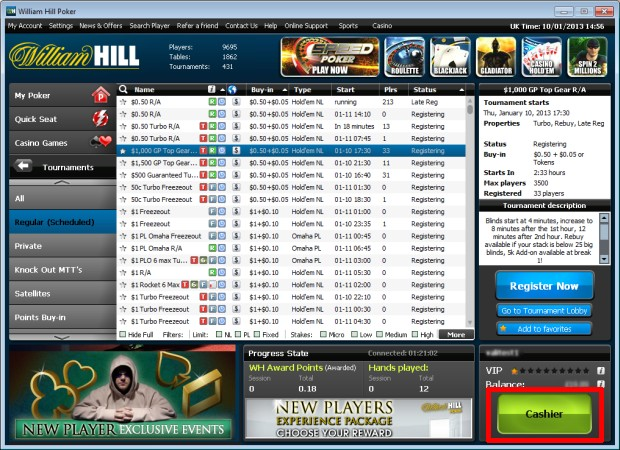 William hill poker refer a friend procter and gamble financial report 2014
