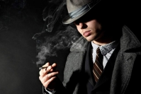The real detective story occurred in poker once