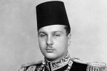 Valuable collection of Farouk I