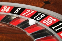 Mathematical winnings in a roulette