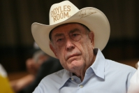 Trash victory of Doyle Brunson